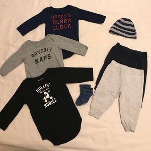 Children's Place Baby Boy (8 pieces included)